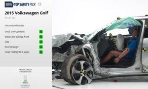 Volkswagen-Golf-IIHS_تست امنیت_فولکس گلف2015_