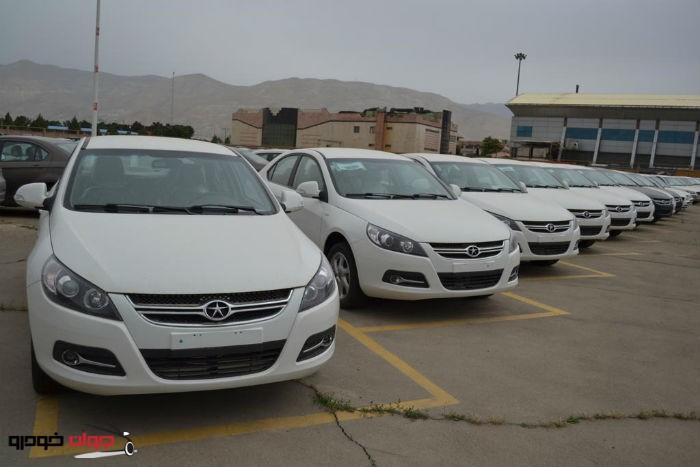 پارکینگ خودرو_جک j5_JAC J5_جی ای سی J5