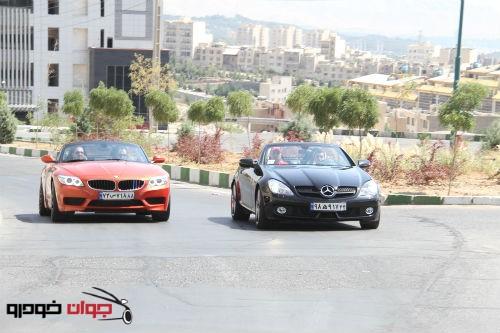 تست مرسدسبنز و BMW Z4 28i