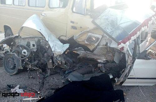 تصادف مرگبار جاده ساوه
