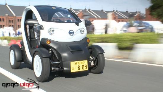 خودروی برقی نیسان