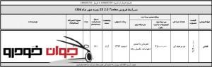 شرایط فروش جک S5_مهر 94