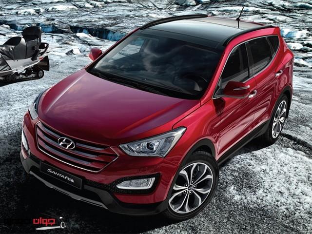 -Hyundai-Santa-Fe-هیوندای سانتافه 2015