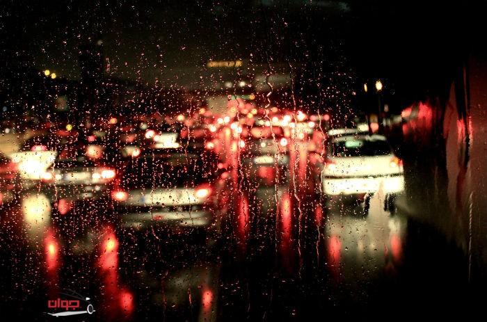 باران_ترافیک