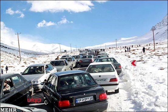ترافیک_زمستان
