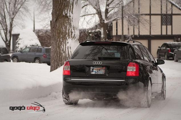 نگهداری از خودرو در زمستان