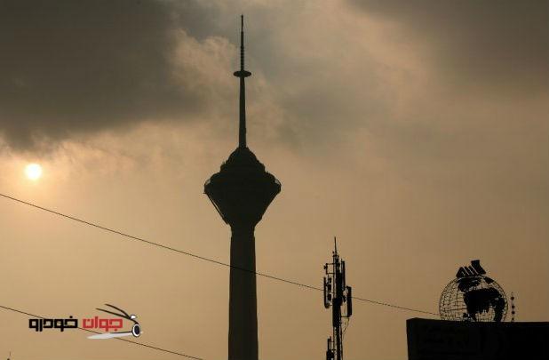 آلودگی هوا_تهران_برج میلاد