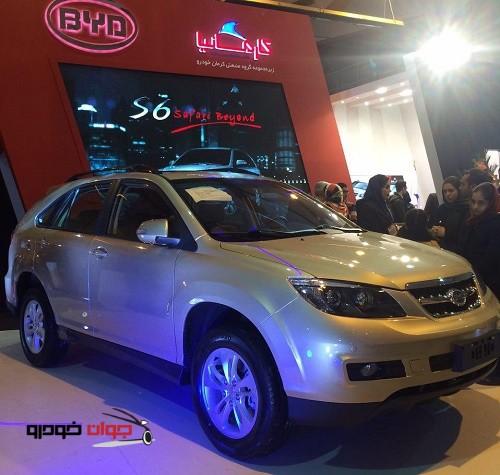 رونمایی از BYD S6_نمایشگاه خودرو کرمان-2