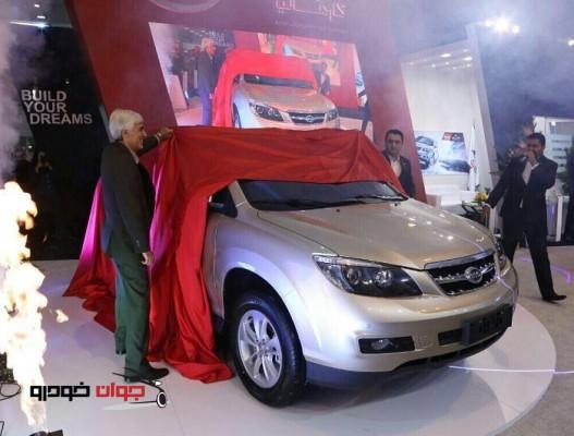 رونمایی از BYD S6_نمایشگاه خودرو کرمان-3