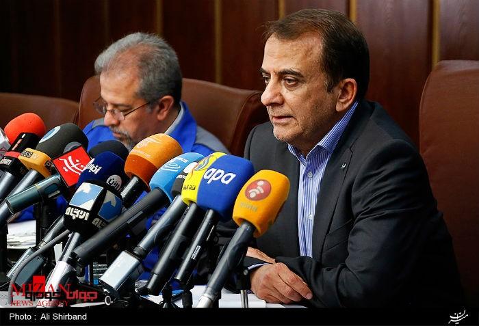 نشست خبری ایران خودرو_یکه زارع