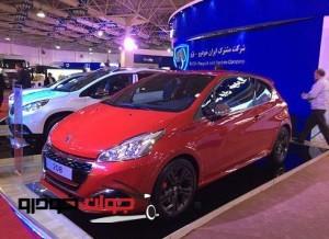 پژو 208 در نمایشگاه توانمندی های صنعت خودرو
