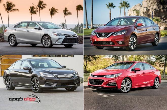 پرفروش ترین خودروهای سال 2016