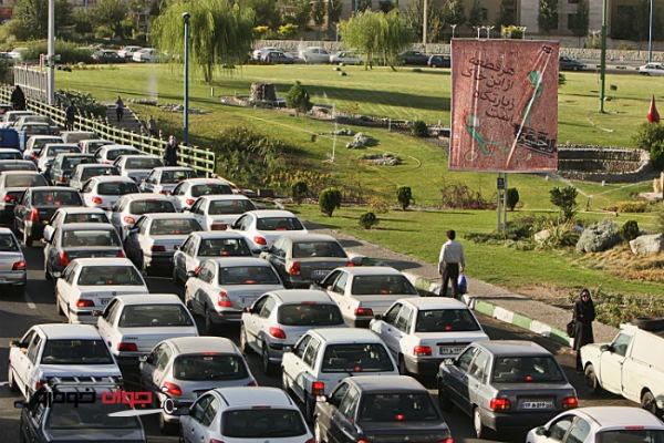 ترافیک تهران