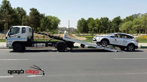 حمل رایگان خودروهای تحت گارانتی