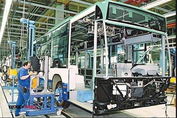خط تولید اتوبوس
