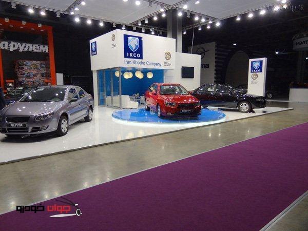 محصولات ایران خودرو در روسیه