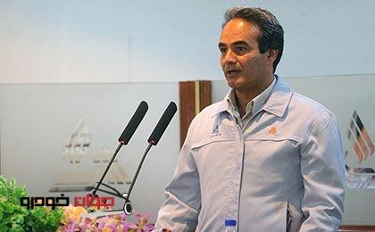 ناصر آقا محمدی مدیرعامل پارس خودرو