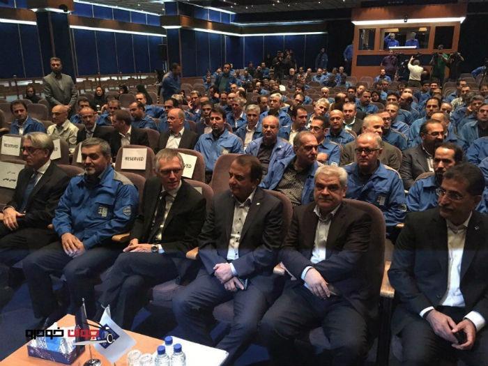 نشست مشترک ایران خودرو و پژو