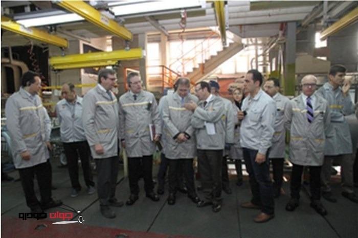 بازدید قائم مقام ارشد کیفیت و رضایت مشتریان شرکت رنو فرانسه از پارس خودرو