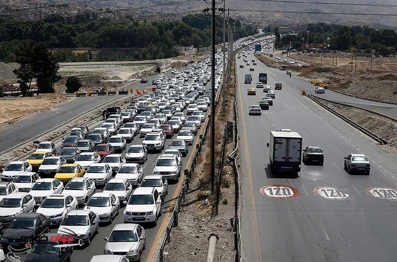 ترافیک جادههای کشور