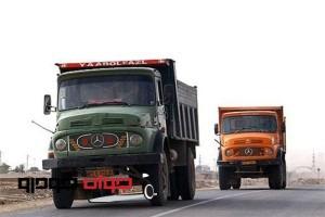 کامیون های فرسوده