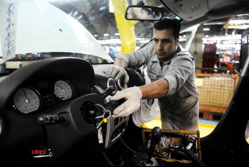خط تولید ساندرو-پارس خودرو