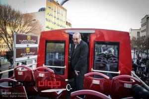 اتوبوس 2 طبقه روباز