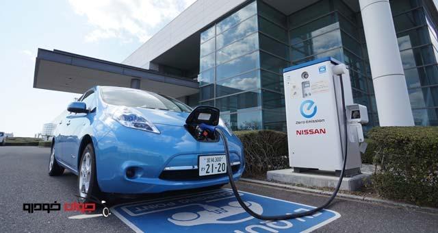 ایستگاه شارژ خودروهای برقی