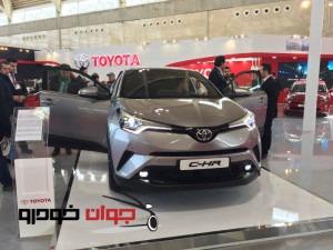 غرفه ایرتویا_نمایشگاه خودرو_تویوتا C-HR