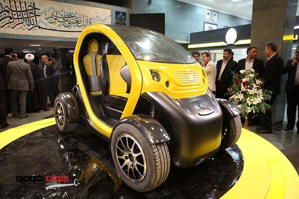 خودرو برقی کوادرو