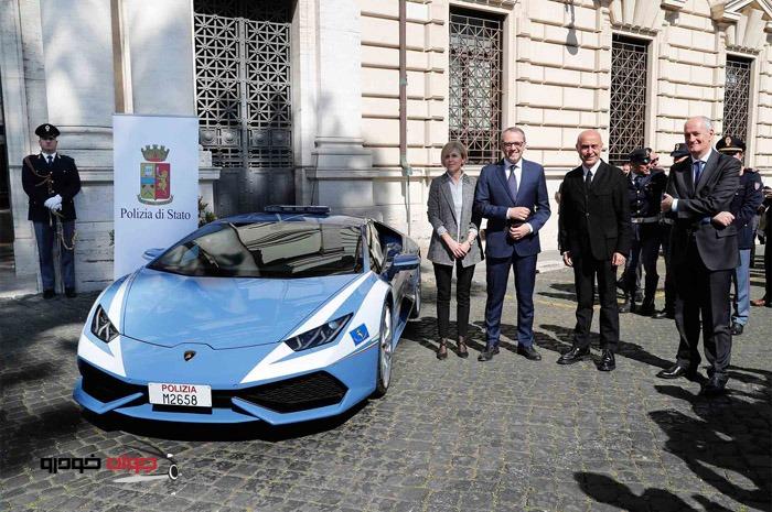 لامبورگینی هوراکان-پلیس ایتالیا