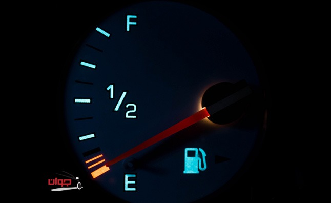 چراغ هشدار سوخت