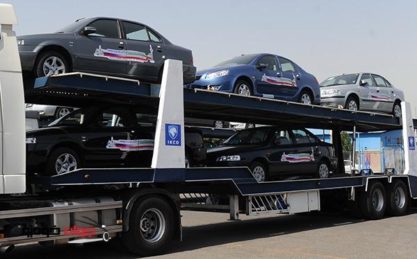 صادرات محصولات ایران خودرو