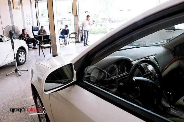 نمایشگاه ماشین-پیش فروش خودرو