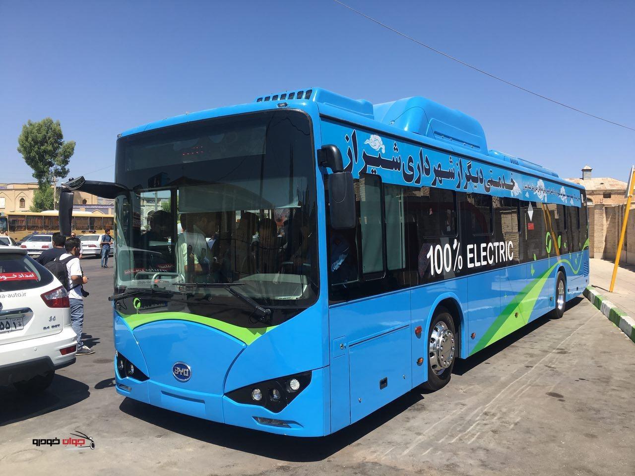 اتوبوس برقی byd (2)