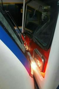 تصادف قطار مترو در ایستگاه طرشت-2