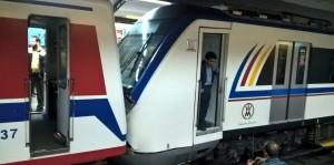 تصادف قطار مترو در ایستگاه طرشت-4