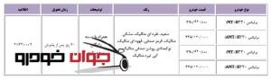 فروش فوری و پیش فروش اچ 200 (ویژه عید فطر)