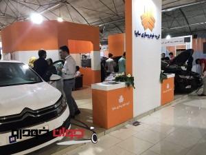 غرفه سایپا و پارس خودرو -نمایشگاه خودرو کرج