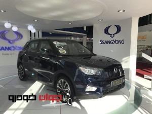 سانگ یانگ تیوولی_نمایشگاه خودرو مشهد_رامک خودرو