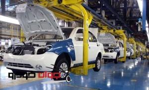 گروه خودروسازی سایپا-خط تولید