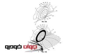 اختراع فورد-هشدار وضعیت باد تایرها