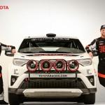 تویوتا RAV4 مسابقه ای