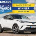 تویوتا c-hr-بهترین خودرو سال 2018
