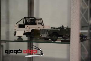 ماکت های نمایشگاه خودرو