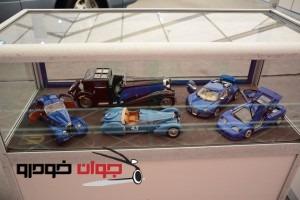 ماکت های نمایشی در نمایشگاه خودرو