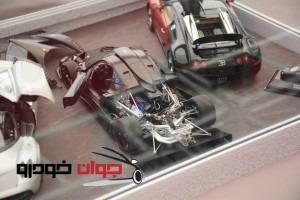 نمایش ماکت های نمایشگاه خودرو
