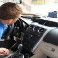 تمیز کردن داخل خودرو