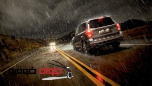 رانندگی در شرایط بارانی