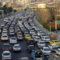 ترافیک چمران-محدوده نمایشگاه